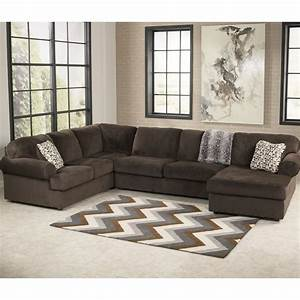 Signature design by ashley jessa place 3 pc sectional for L sectionals couch ashley furniture