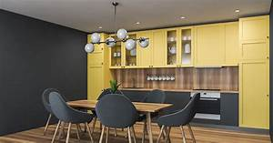 Clever, Room, Decorating, Ideas, Using, Yellow, And, Grey