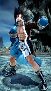 Official Images of New Tekken 7 FR Character Default ...