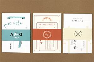 using a belly band is a beautiful way to tie your wedding With diy belly band for wedding invitations