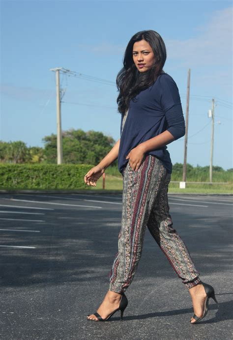 Afroza Khan - Pacsun Joggers Traffic Shoe Single Sole Shoes Cotton One Loose Top - Comfy Chic ...