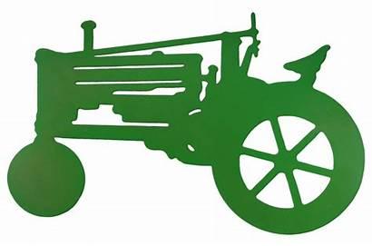 Deere John Tractor Clip Clipart Tractors Silhouette
