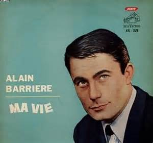 Alain Barriere Ma Vie alain barriere ma vie records lps vinyl and cds musicstack