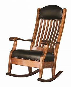 Quick Ship Auntie's Rocker by Dutchcrafters Amish Furniture