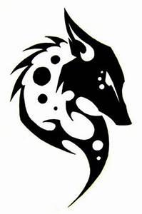 Tatouage Loup Celtique : tatouage tribal loup idees pinterest tribal wolf tattoos tatouages tribaux et loups ~ Farleysfitness.com Idées de Décoration