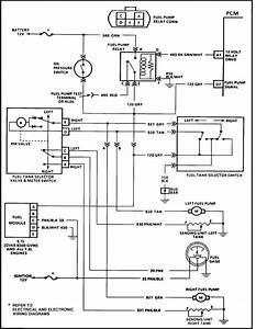 I Need A Wiring Schematic For A Fuel Switch Dash Mounted On A 1991 Chevy Crew Cab One Ton 4x4 V