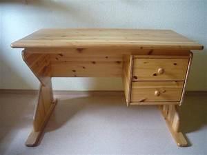 Schreibtisch Kinder Höhenverstellbar : schreibtisch kiefer h henverstellbar mit 2 schubladen in ~ Lateststills.com Haus und Dekorationen
