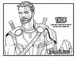 Coloring Pages Resolution Thor Printable Getcolorings sketch template