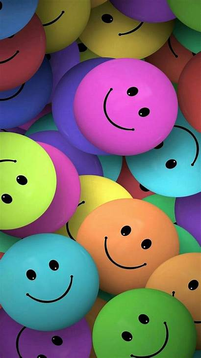 Emoji Smile Happy Always Wallpapers Phone Colorful