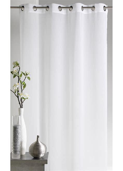 voilage etamine blanc voilage en etamine unie blanc lilas bordeaux ivoire anis taupe gris