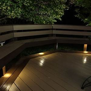 Outdoor led recessed up down light kit dekor? lighting