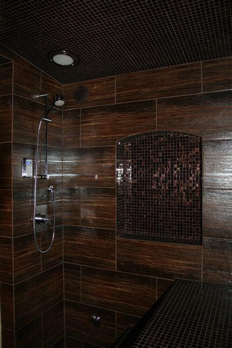tiled shower shelf cool thermasol fashion dc metro modern bathroom remodeling