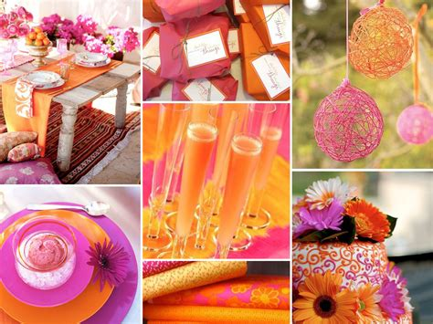 trending orange wedding color ideas for fall 2014