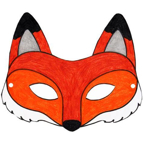décorer la chambre de bébé soi même masque de renard à imprimer