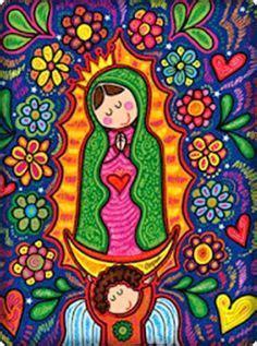 virgen de guadalupe caricatura png buscar con pinturas virgen de