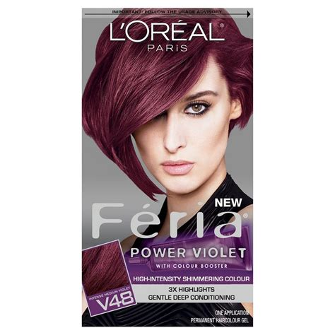 feria hair color purple best box color on the market i will use only this