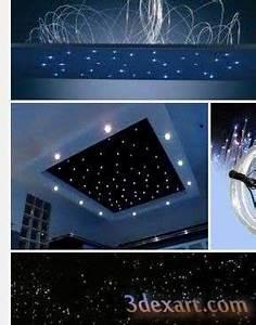 Sternenhimmel Schlafzimmer Selber Bauen : how to make fiber optic star ceiling starry sky stretch ceiling ~ Markanthonyermac.com Haus und Dekorationen