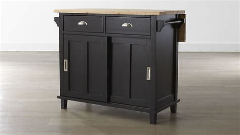 belmont kitchen island belmont black kitchen island crate and barrel