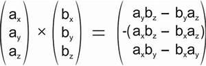 Kreuzprodukt Berechnen Trick : berechnung des vektoriellen produkts einfache variante ~ Themetempest.com Abrechnung