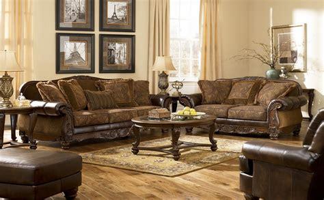 livingroom sets fresco durablend antique living room set from