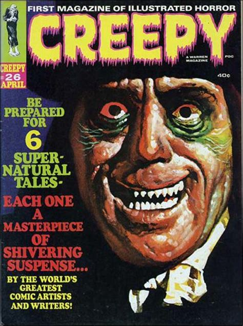 creepy   apr  magazine  warren