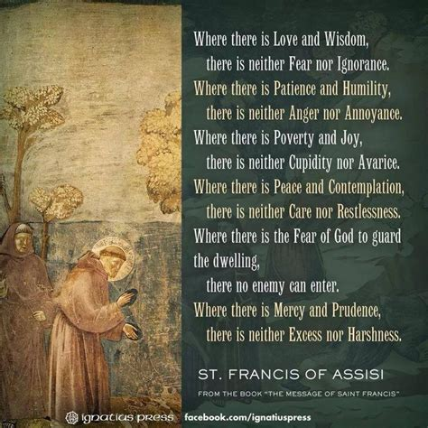 prayer of francis of assisi 17 best images about holy st francis of assisi on when you leave shelters and