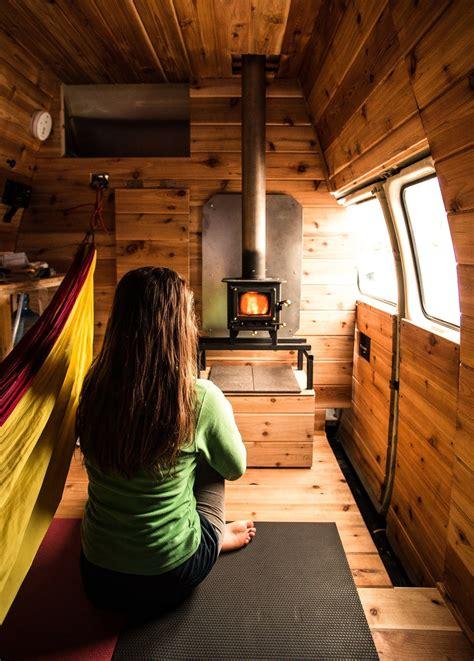 note  hammock   left camper van conversion diy