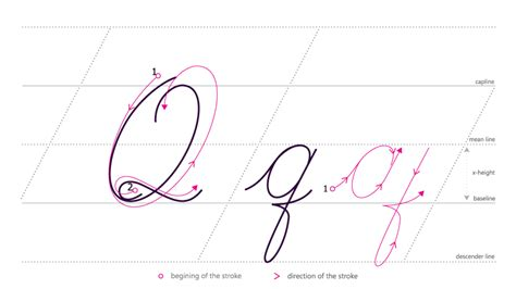 Q In Cursive How To Write A Cursive Q Kidz Activities