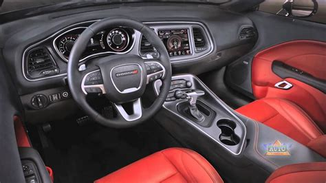 dodge challenger interior overview youtube