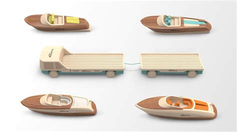 Toy Boat Making Kit by Madeindreams Miniature Wooden Toy Boats For Riva Design