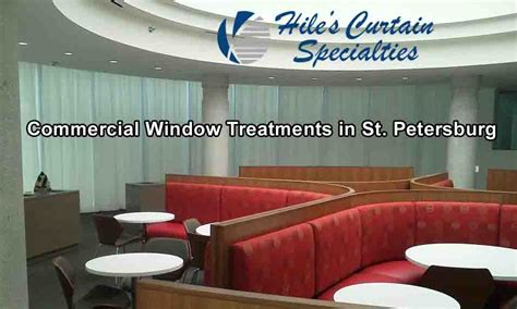 commercial window treatments  st petersburg clearwater