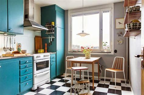 cuisine style retro la fabrique à déco rétro une cuisine tellement sixties
