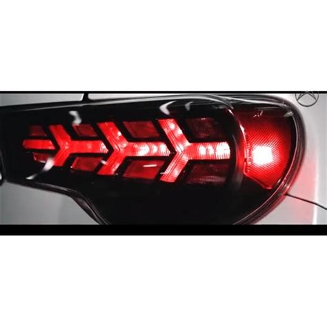 2015 brz tail lights scion frs subaru brz led tail lights by buddy club for
