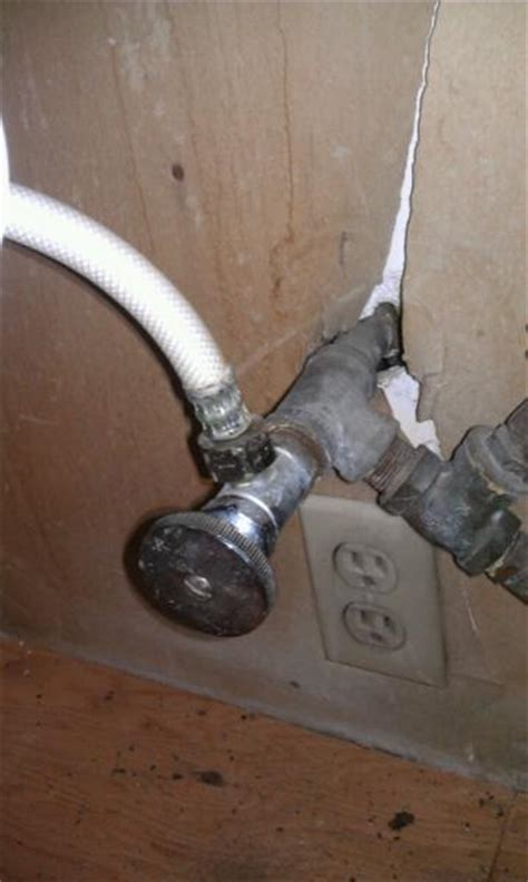 kitchen sink supply lines installing new faucet in kitchen sink issue with supply 5982