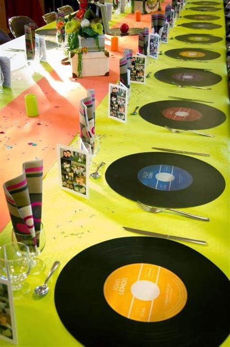 deco de table anniversaire homme d 233 co 233 v 232 nement d 233 coration de table th 232 me 233 e 80 photo decorations photos and table decorations