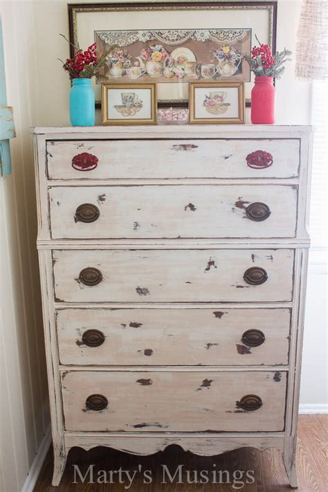 white dresser with hutch chalk painted dresser trash to treasure transformation