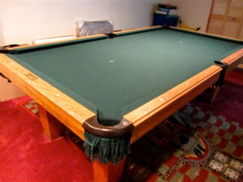 Pool Table 8ft Olhausen Sheraton Model Burlington Ma Patch