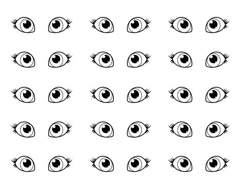 eyes coloring pages  coloring pages