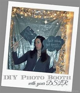 DIY photo booth using DSLR camera