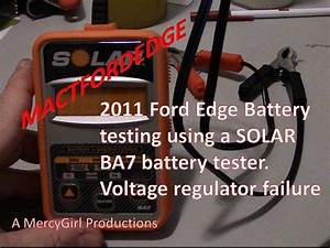 2011 Ford Edge Battery