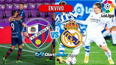Huesca vs Real Madrid EN VIVO ONLINE Jornada 22, Hora Y ...