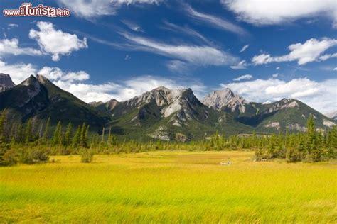 il jasper national park nella provincia canadese
