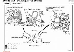 2006 Nissan Maxima Engine Diagram