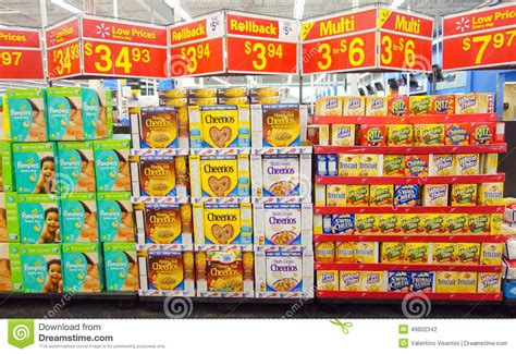 Supermarket Special Offers Editorial Photography. Image Of
