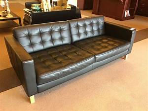 3 piece black leather sofa set with couch matching arm With matching sofa and coffee tables