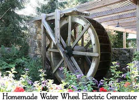 l water wheel water wheel electric generator lil moo creations