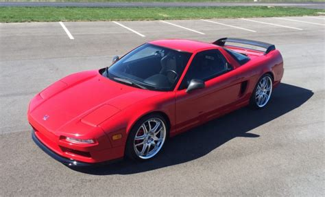 supercharged  acura nsx  sale  bat auctions