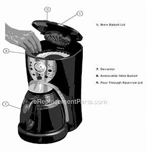 Mr  Coffee Istx95 Parts List And Diagram