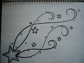 Shooting Star Tattoo Design Drawings