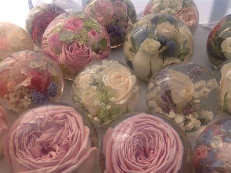 flowers  encased   hand  flower